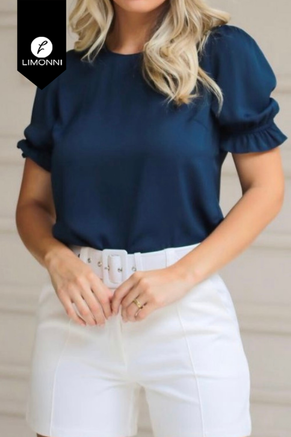 Blusas para mujer Limonni Mailía LI3474 Casuales