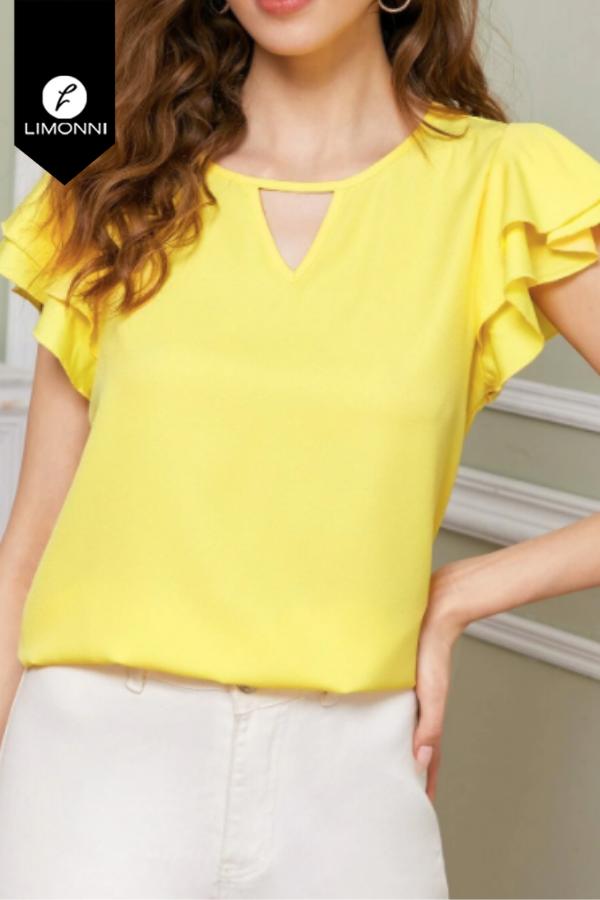 Blusas para mujer Limonni Mailía LI3480 Casuales