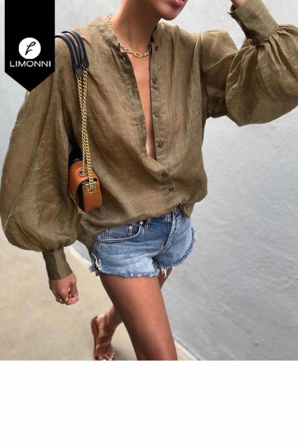 Blusas para mujer Limonni Mailía LI3502 Camiseras