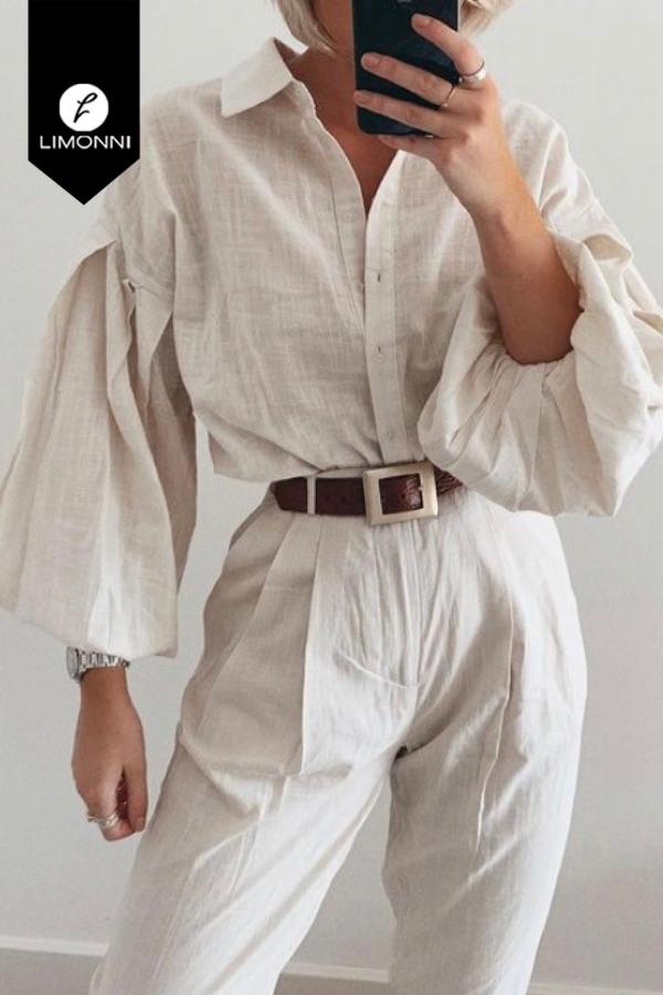 Blusas para mujer Limonni Mailía LI3504 Camiseras