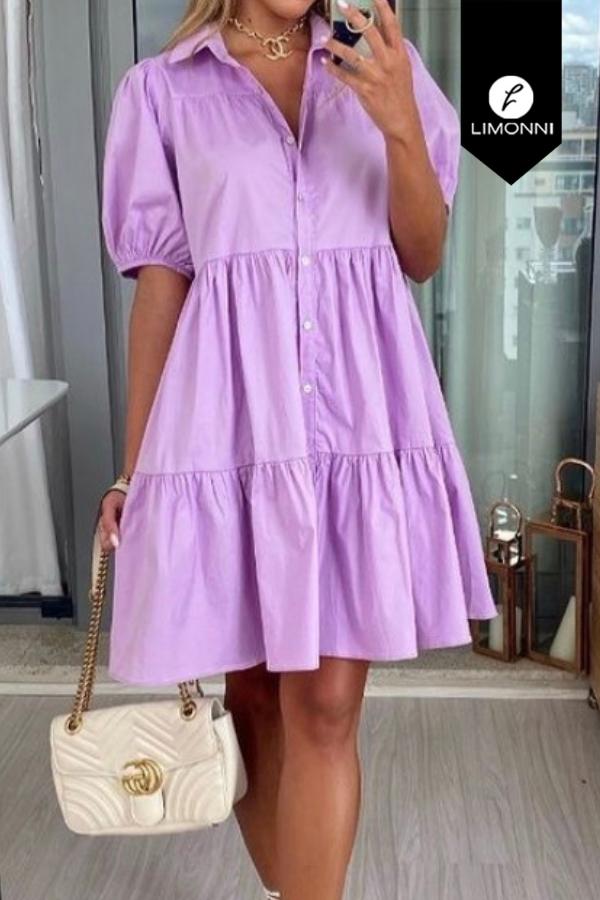Vestidos para mujer Limonni Mailía LI3520 Cortos Casuales