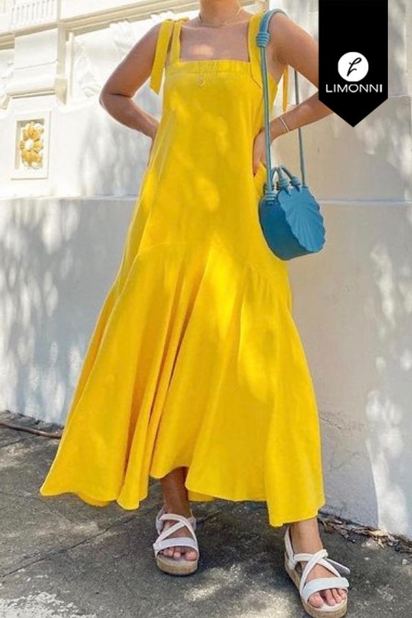 Vestidos para mujer Limonni Mailía LI3523 Maxidress