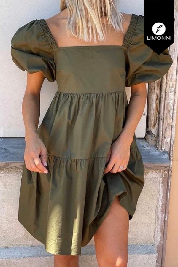 Vestidos para mujer Limonni Mailía LI3527 Cortos Casuales