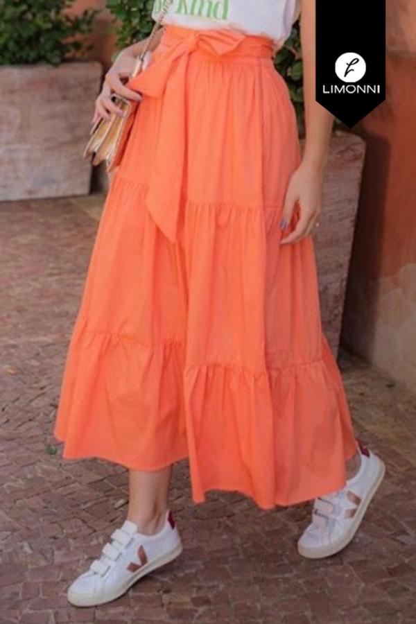 Faldas para mujer Limonni Mailía LI3528 Cortos Casuales
