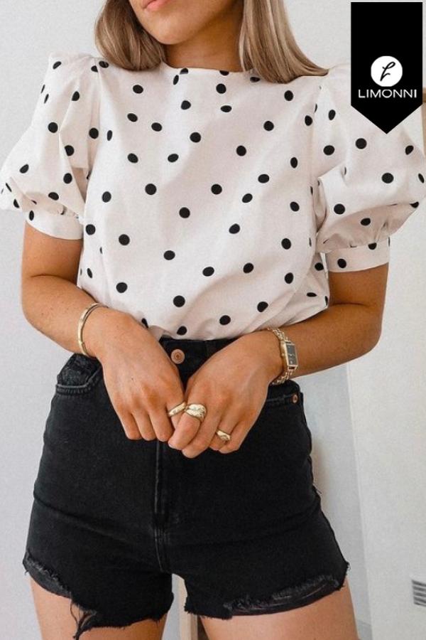 Blusas para mujer Limonni Mailía LI3529 Casuales