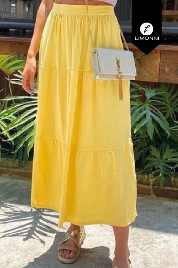 Faldas para mujer Limonni Mailía LI3539 Largos elegantes