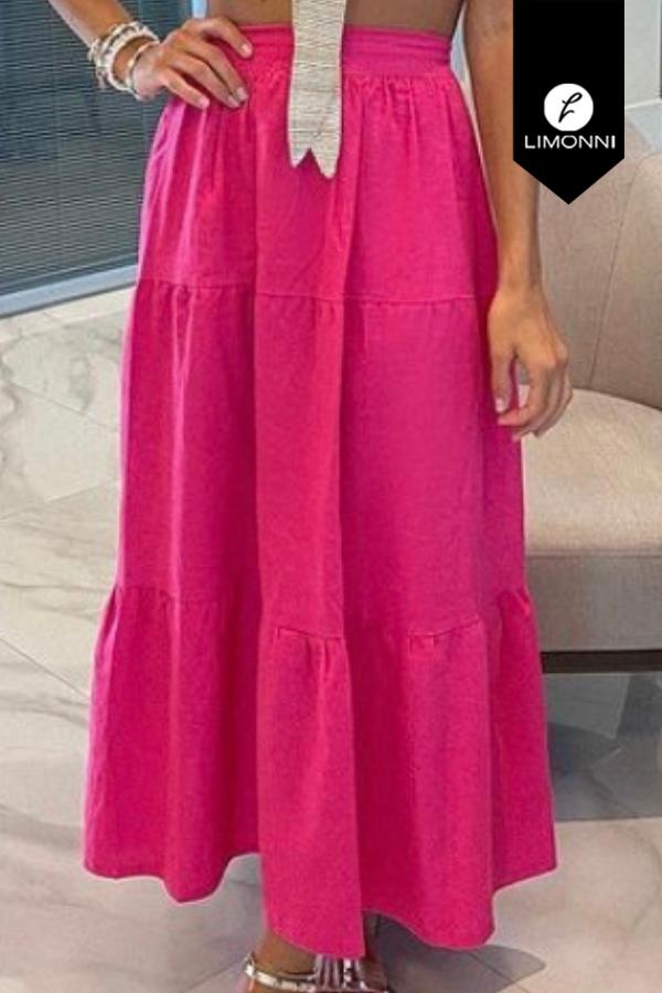 Faldas para mujer Limonni Mailía LI3541 Largos elegantes