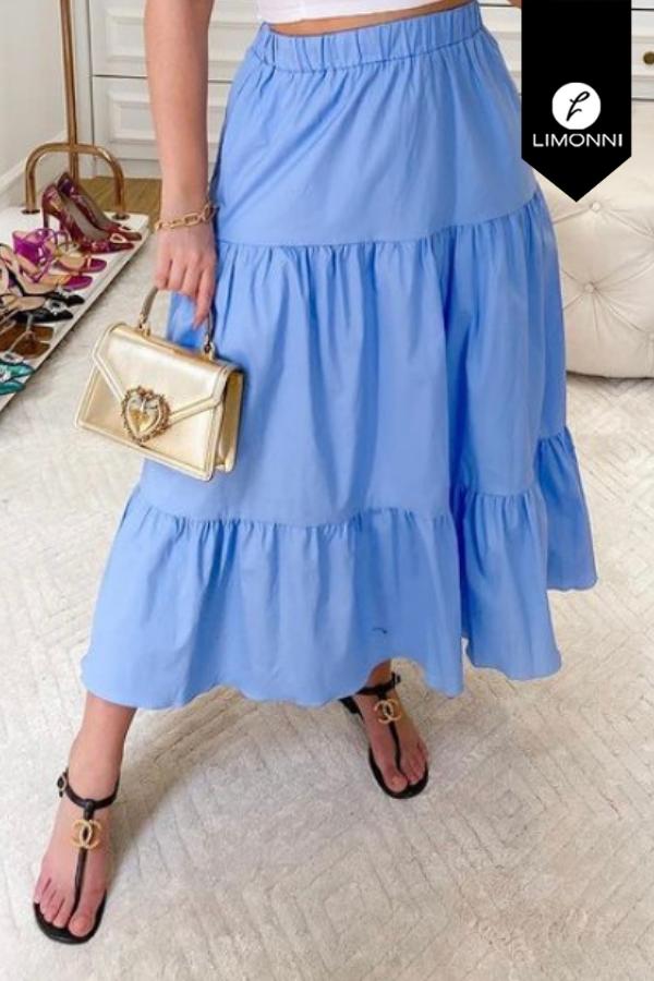 Faldas para mujer Limonni Mailía LI3547 Largos elegantes