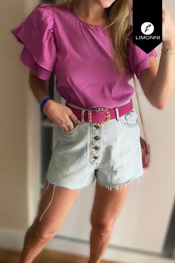 Blusas para mujer Limonni Mailía LI3548 Casuales