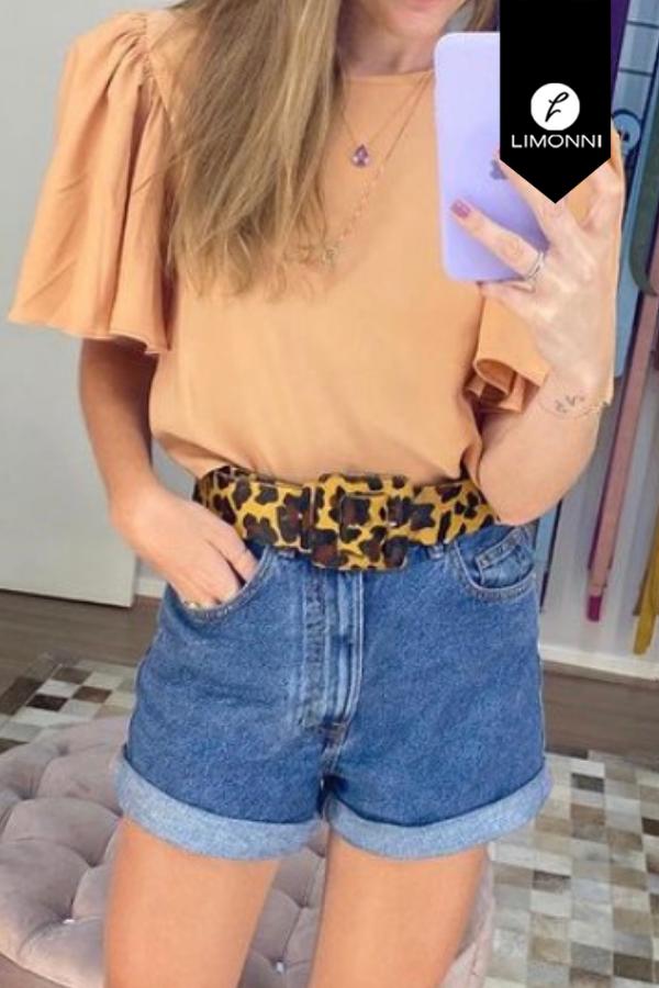 Blusas para mujer Limonni Mailía LI3549 Casuales