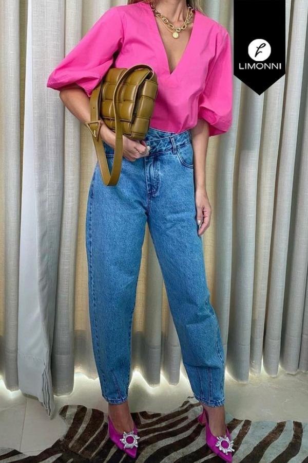 Blusas para mujer Limonni Mailía LI3550 Casuales