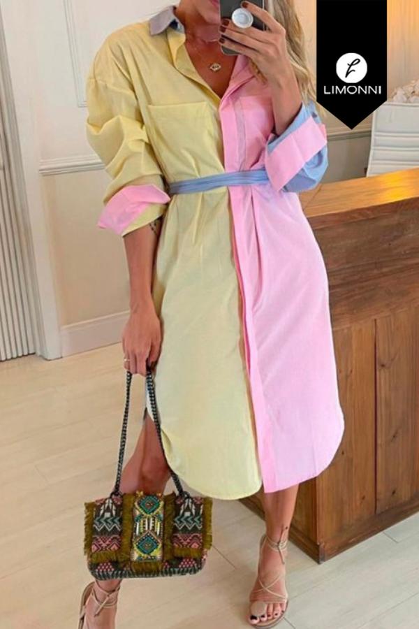 Vestidos para mujer Limonni Mailía LI3556 Maxidress