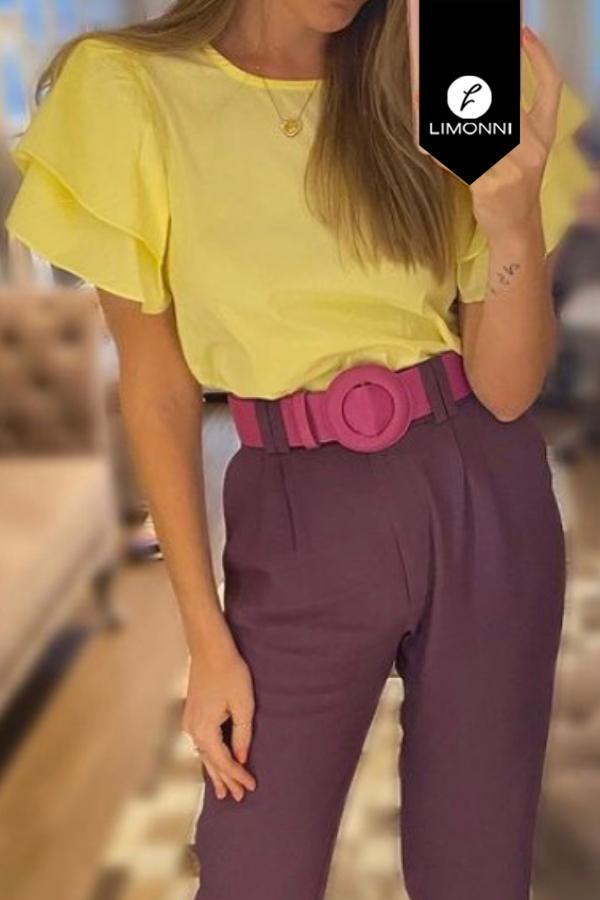 Blusas para mujer Limonni Mailía LI3560 Casuales