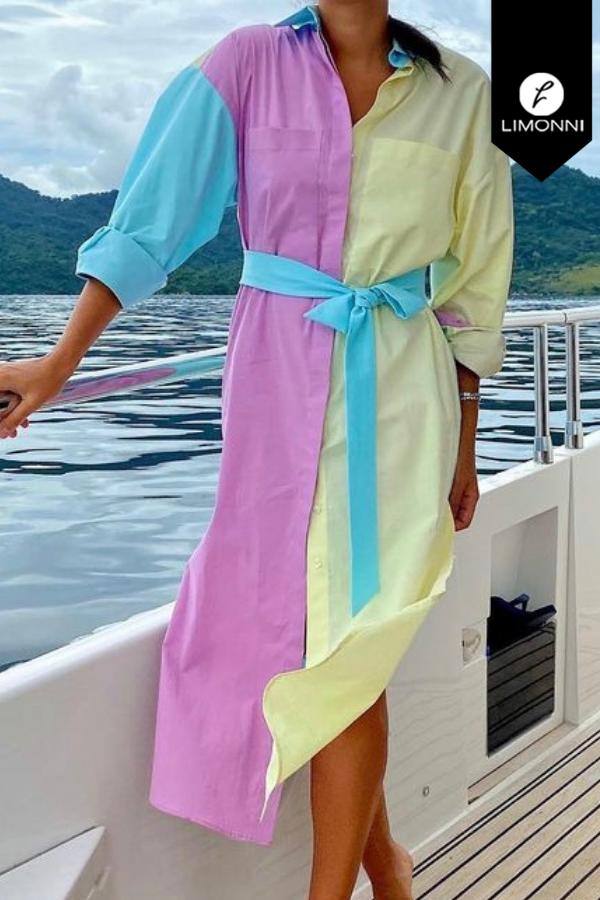 Vestidos para mujer Limonni Mailía LI3562 Maxidress