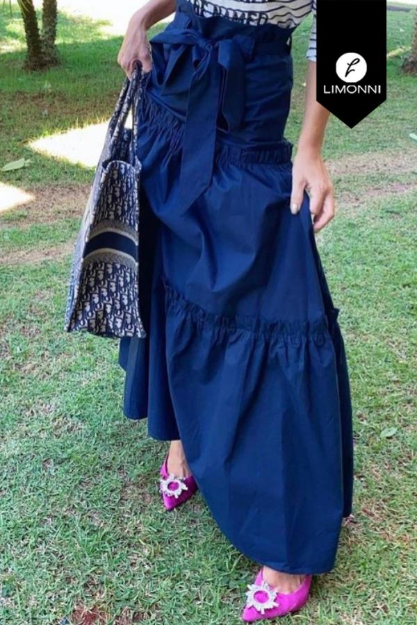 Faldas para mujer Limonni Mailía LI3598 Largos elegantes