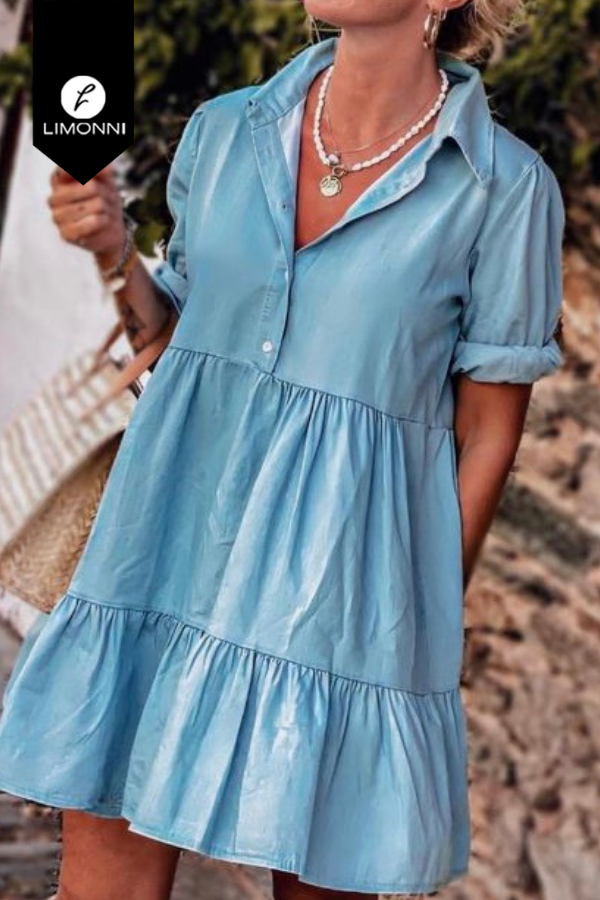 Vestidos para mujer Limonni Mailía LI3615 Cortos Casuales