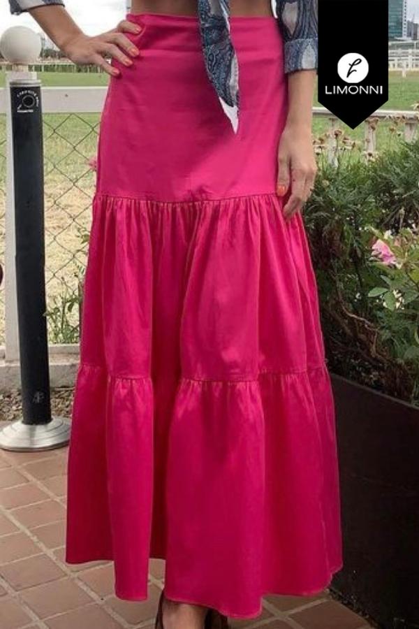 Faldas para mujer Limonni Mailía LI3623 Largos elegantes