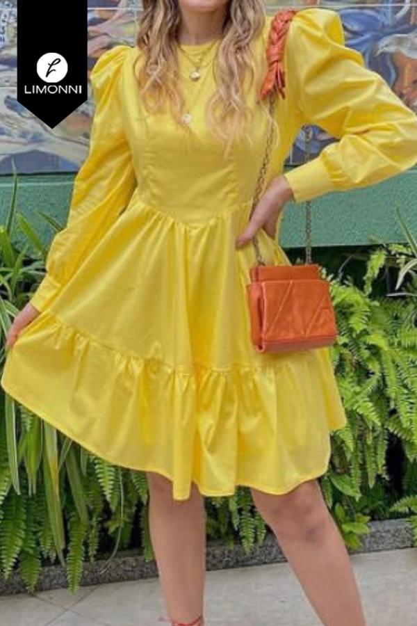 Vestidos para mujer Limonni Mailía LI3632 Cortos Casuales
