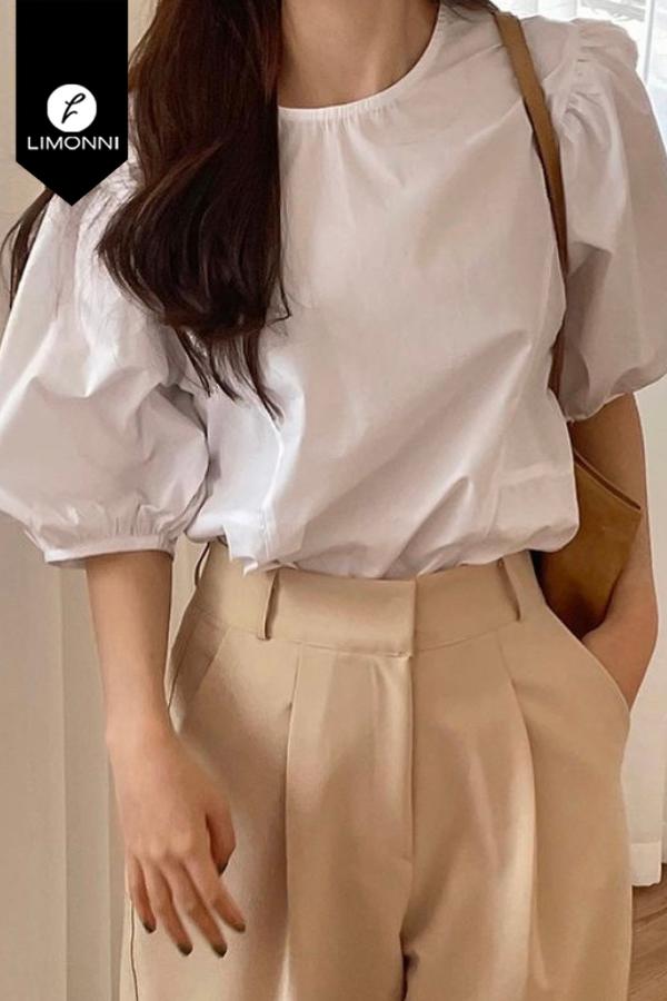 Blusas para mujer Limonni Mailía LI3667 Casuales