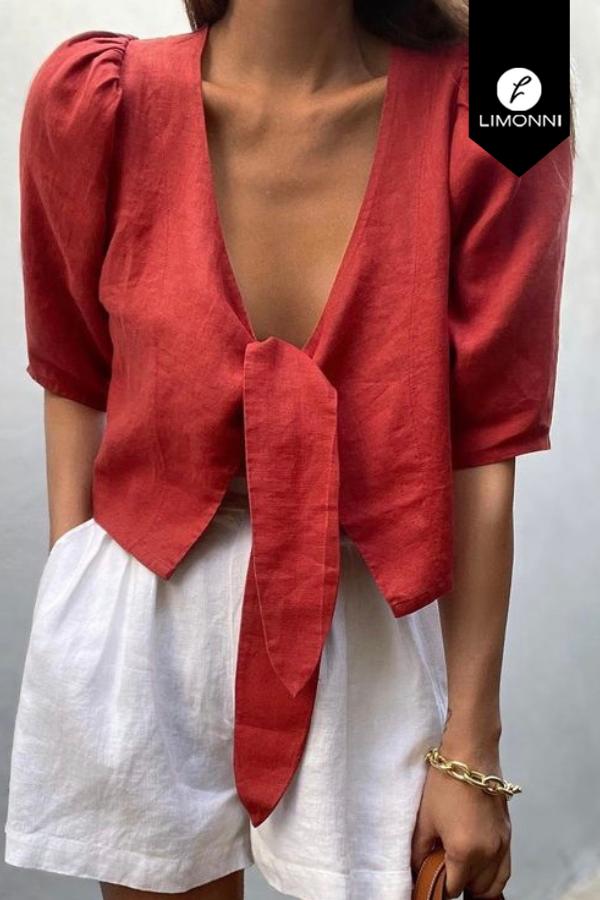 Blusas para mujer Limonni Mailía LI3668 Casuales