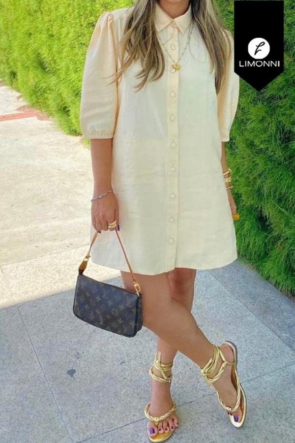 Vestidos para mujer Limonni Mailía LI3697 Cortos Casuales