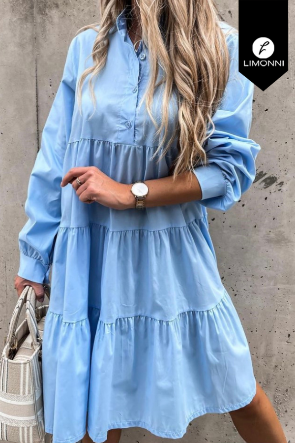 Vestidos para mujer Limonni Mailía LI3717 Cortos Casuales