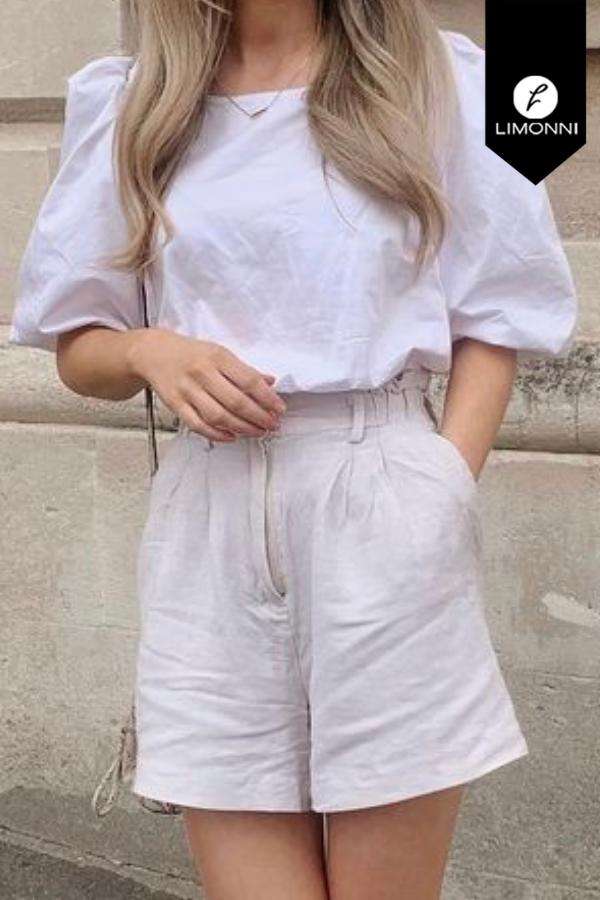 Blusas para mujer Limonni Mailía LI3720 Casuales