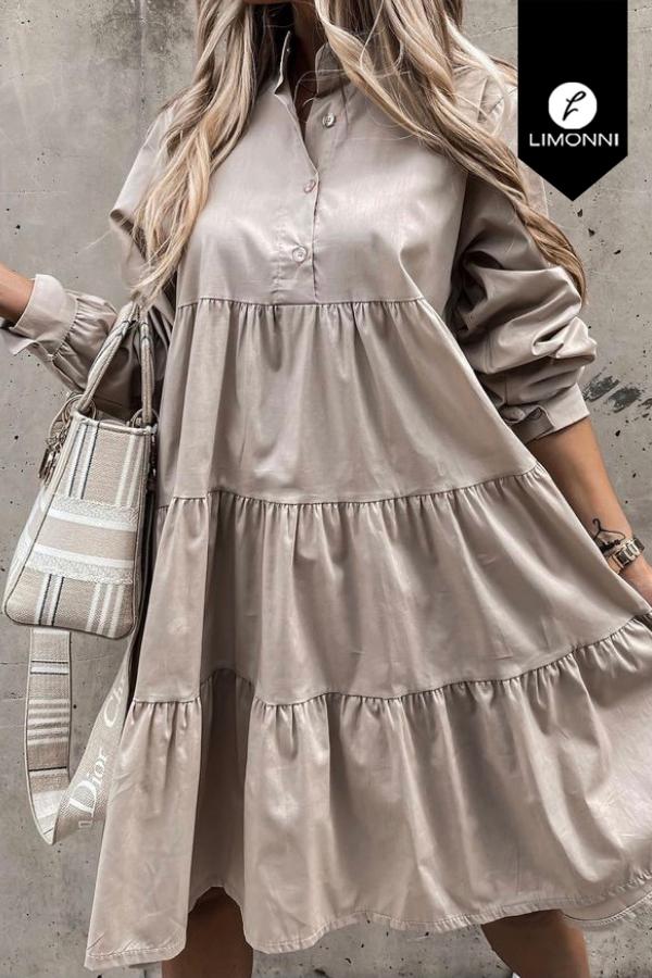 Vestidos para mujer Limonni Mailía LI3721 Cortos Casuales