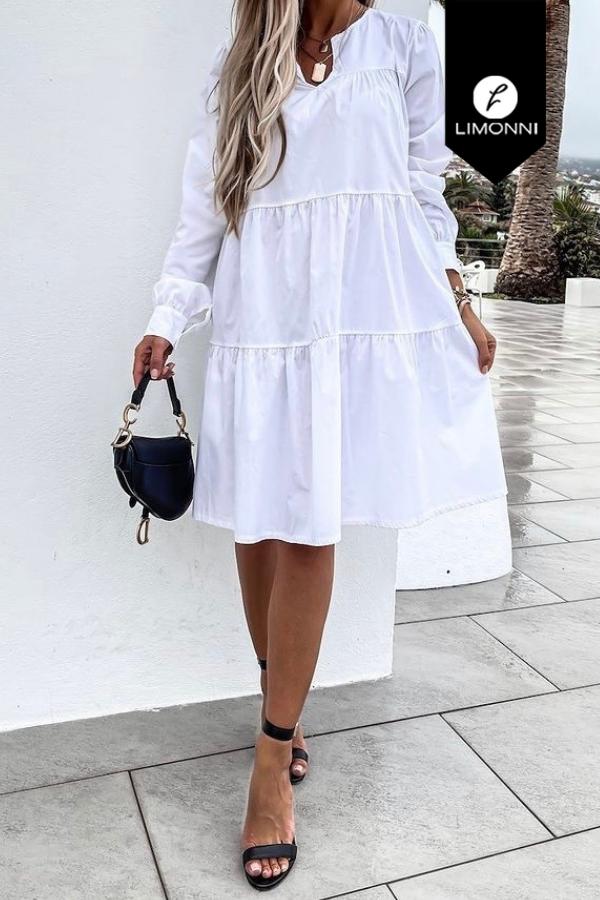 Vestidos para mujer Limonni Mailía LI3722 Cortos Casuales