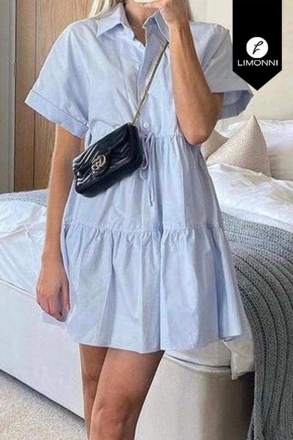 Vestidos para mujer Limonni Mailía LI3729 Cortos Casuales