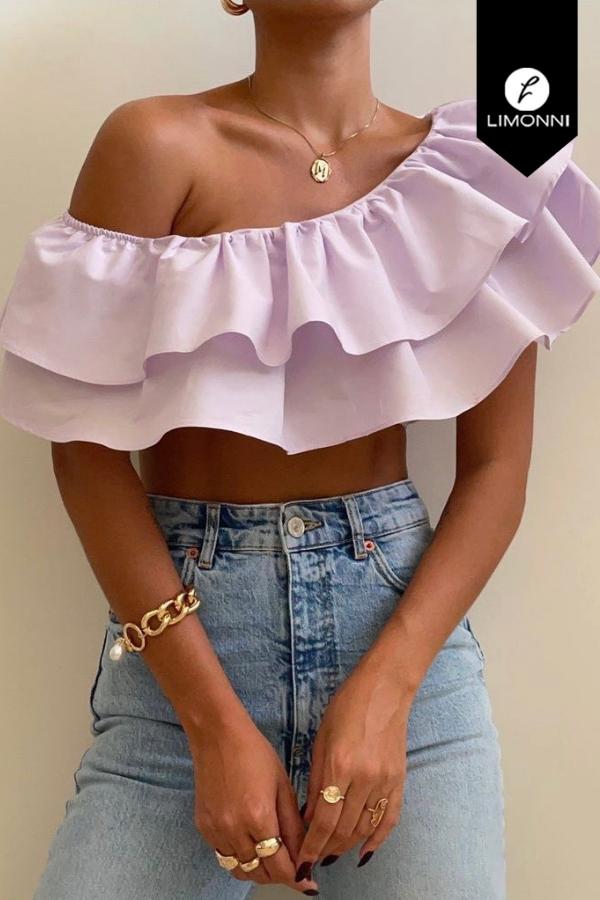 Blusas para mujer Limonni Mailía LI3736 Tops