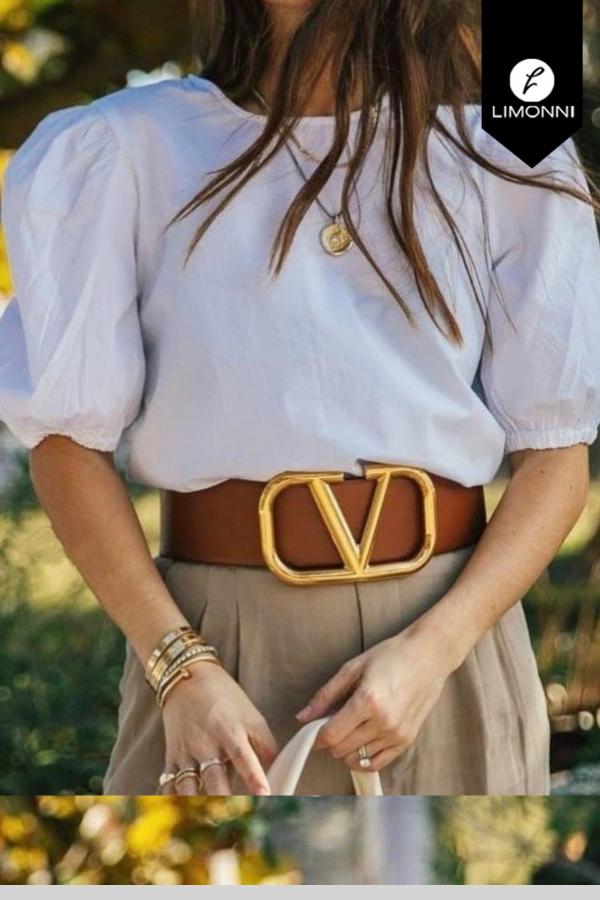 Blusas para mujer Limonni Mailía LI3737 Casuales