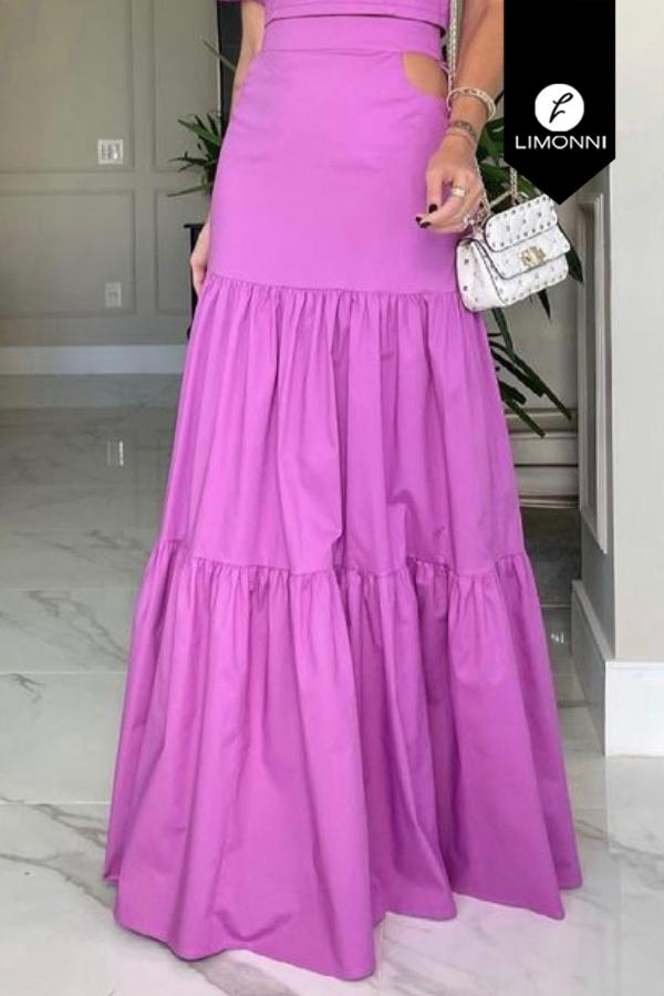 Faldas para mujer Limonni Mailía LI3745 Faldas