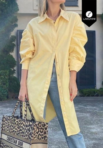 Blusas para mujer Limonni Visionary LI3756 manga larga