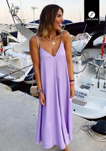 Vestidos para mujer Limonni Mailía LI3764 Maxidress