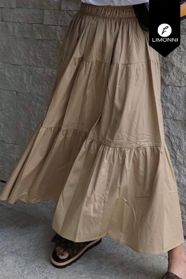 Faldas para mujer Limonni Mailía LI3773 Largos elegantes