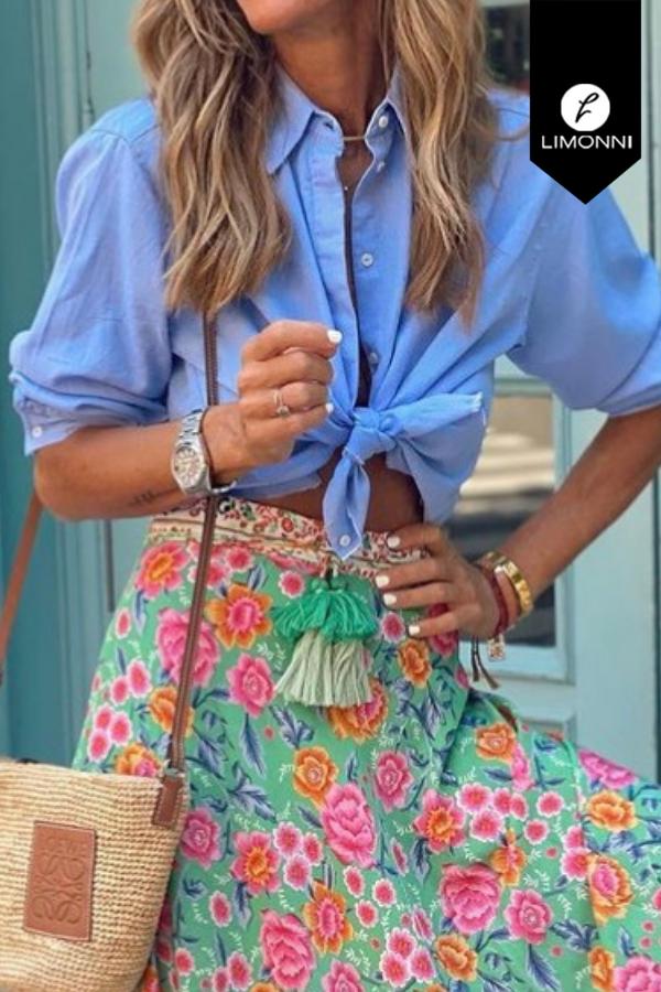 Blusas para mujer Limonni Mailía LI3780 Camiseras