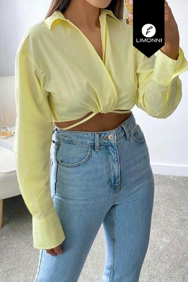 Blusas para mujer Limonni Mailía LI3784 Camiseras