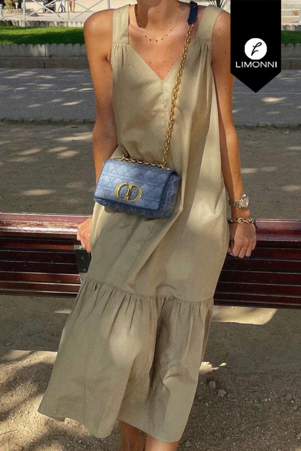 Vestidos para mujer Limonni Mailía LI3816 Maxidress