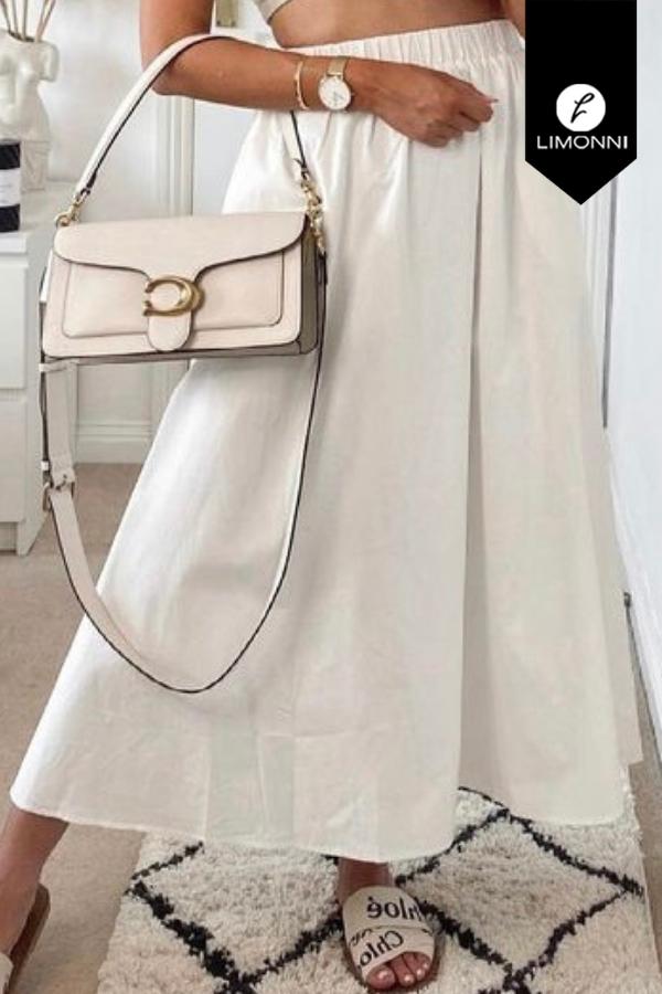 Faldas para mujer Limonni Mailía LI3827 Largos elegantes