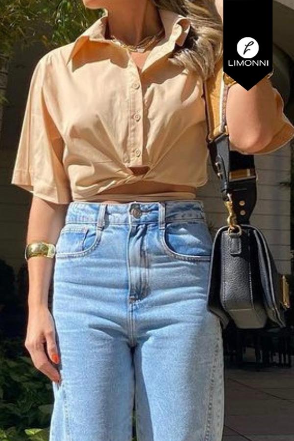 Blusas para mujer Limonni Mailía LI3834 Camiseras