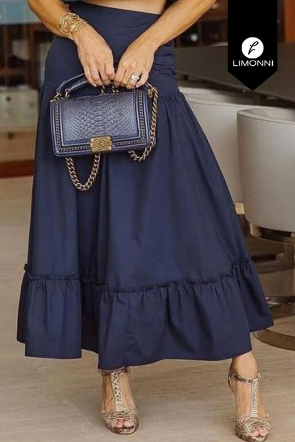 Faldas para mujer Limonni Mailía LI3857 Largos elegantes