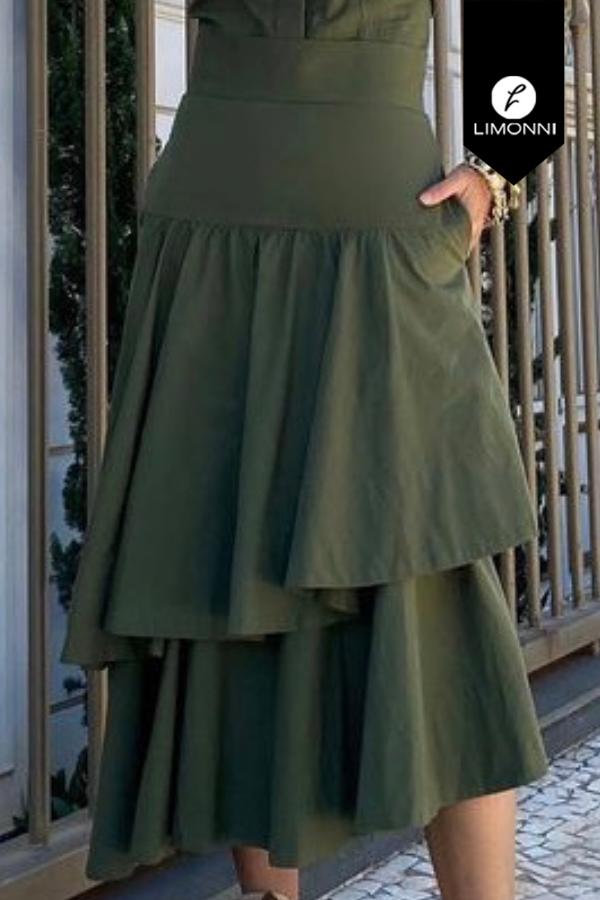 Faldas para mujer Limonni Mailía LI3859 Largos elegantes