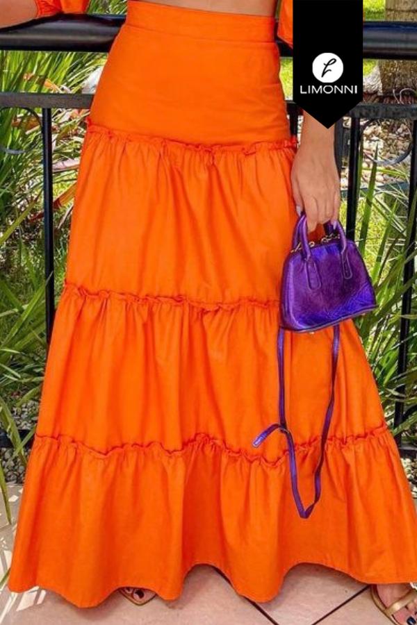 Faldas para mujer Limonni Mailía LI3863 Largos elegantes