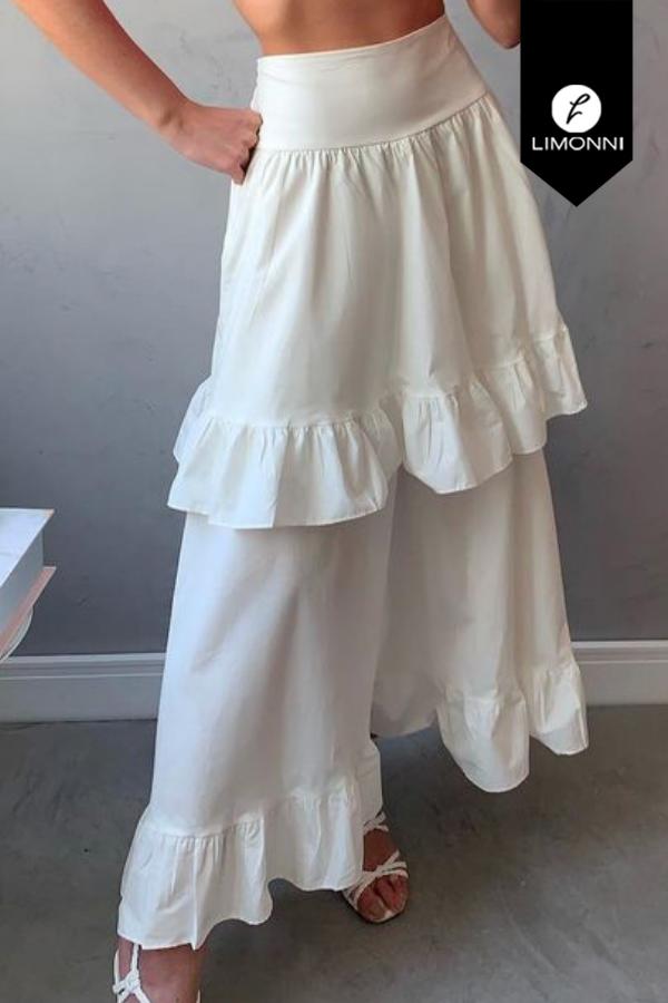 Faldas para mujer Limonni Mailía LI3877 Largos elegantes