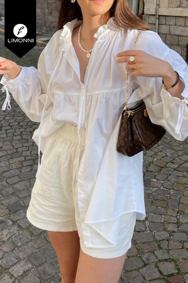 Blusas para mujer Limonni Mailía LI3903 Casuales