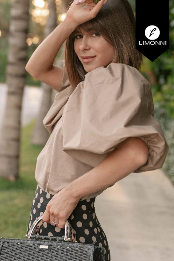 Blusas para mujer Limonni Mailía LI3952 Casuales