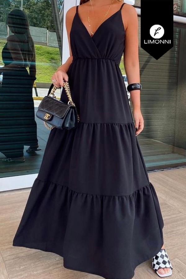 Vestidos para mujer Limonni Mailía LI3980 Maxidress