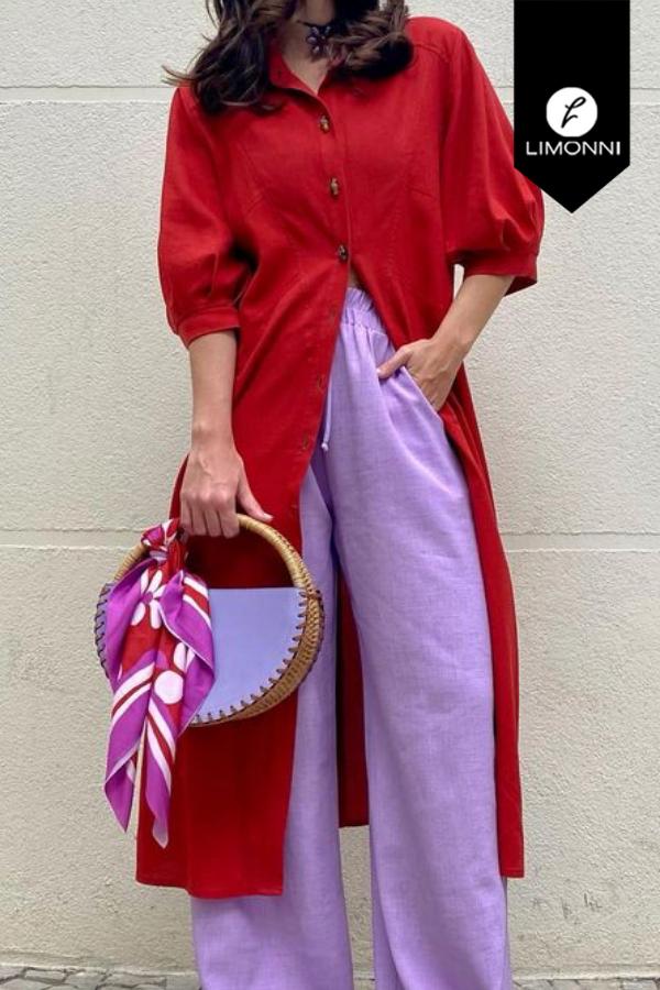 Blusas para mujer Limonni Mailía LI3996 Casuales