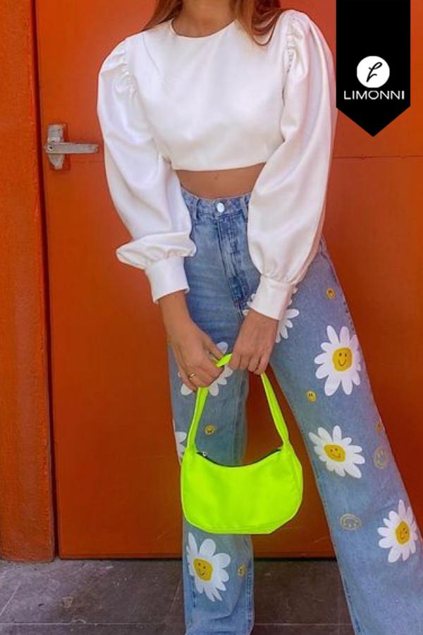 Blusas para mujer Limonni Mailía LI3998 Tops